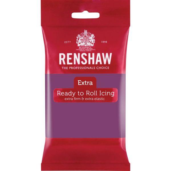 Renshaw Rollfondant Deep Purple 250 g