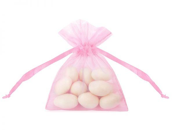Organza Beutel Pink 7,5 X 10 cm/20 Stk.