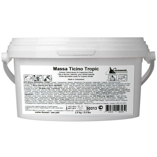 Massa Ticino Tropic Weiß 2,5 Kg