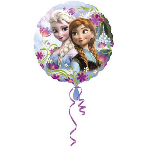 Frozen Anna und Elsa Folienballon 45 cm