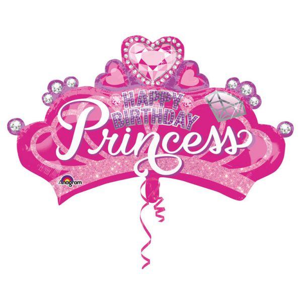 Princess Crown Folienballon 81 X 48 cm