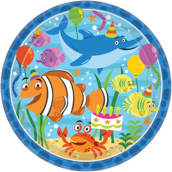 Ocean Buddies 8 Teller 22,8 cm
