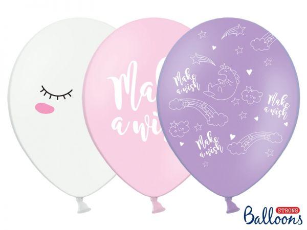 Ballon Einhorn Mix