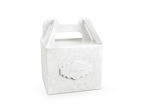 Kuchen Box 11.5 X 11.5 X 9.5 cm Danke 10 Stk.