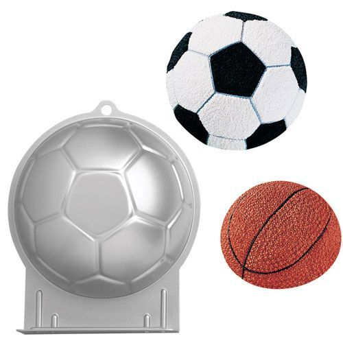 Wilton Backform Fußball 3D