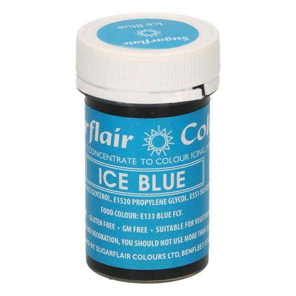 Sugarflair Pastenfarbe - Ice Blue