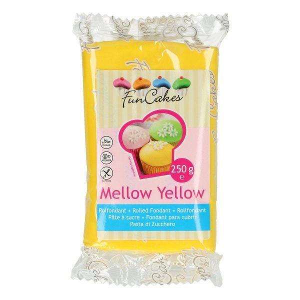 Rollfondant Mellow Yellow 250 g