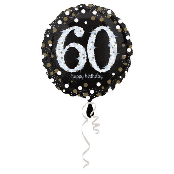 Sparkling 60 Folienballon 43 cm