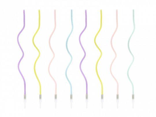 Kerzen Curl Mix 14 cm