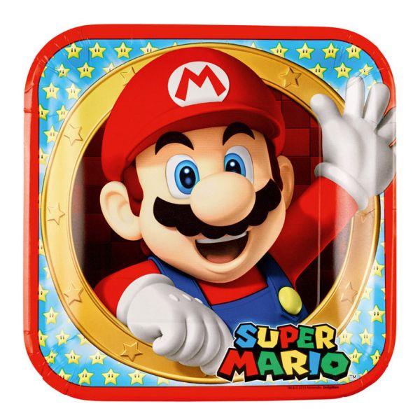 Super Mario 8 Teller 23 cm