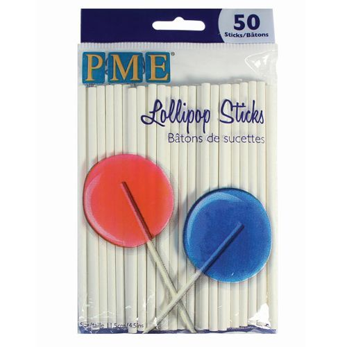 Lollipop Sticks 11,5 cm