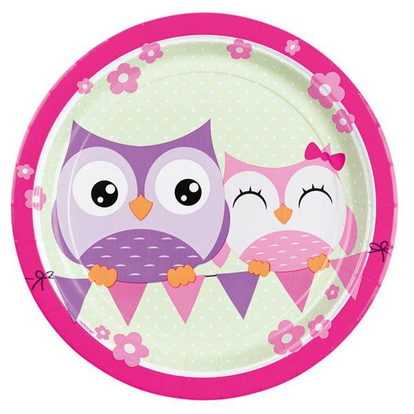 Happy Owl 8 Teller 23 cm