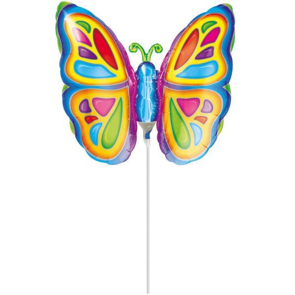 Schmetterling Mini-Folienballon