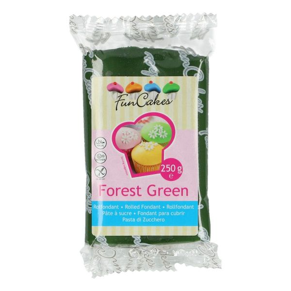 Rollfondant Forest Green 250 g