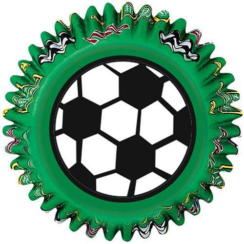 Wilton Muffin Förmchen Fußball