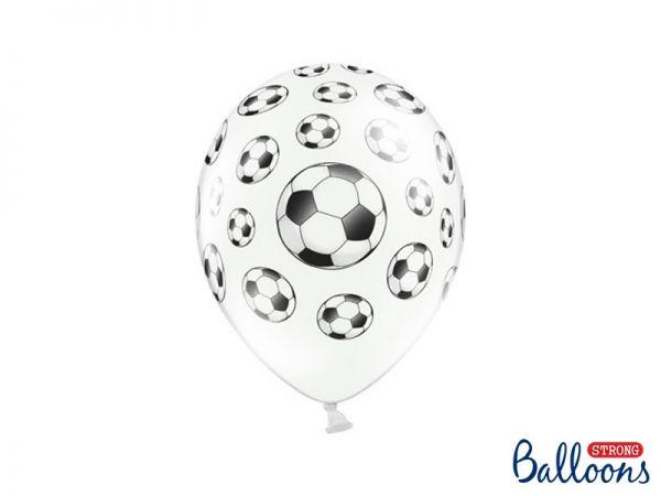Ballon Fussball Pastel Pure White 30 cm