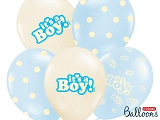 Ballon Its a Boy Pastel/6