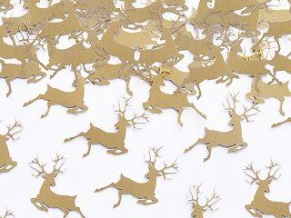 Confetti Rudolf Gold