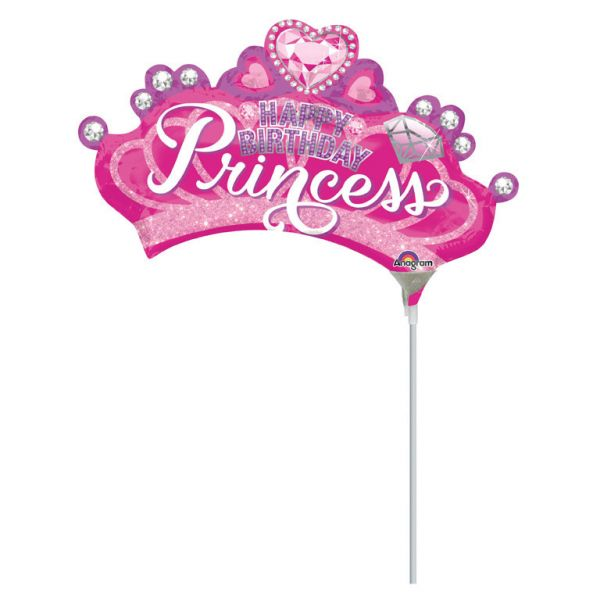 Prinzessin Mini-Folienballon