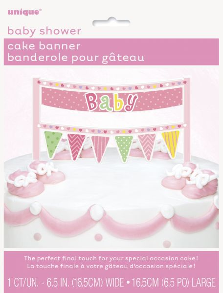 Cake Topper Baby Pink