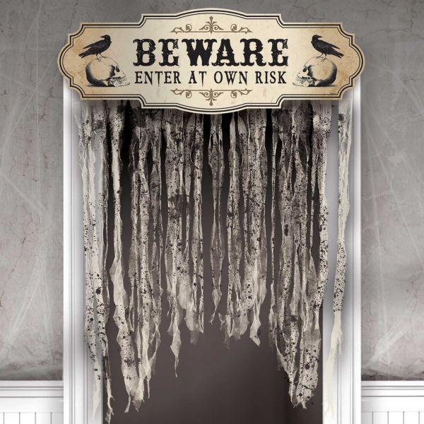 Tür Vorhang Beware 1,4 X 1 M