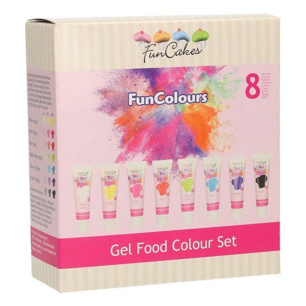 Funcolours Gel Set/8