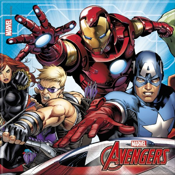 Mighty Avengers Servietten