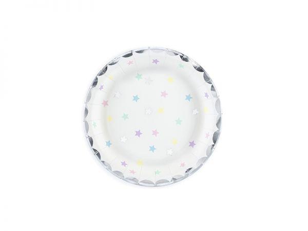 Plates Unicorn Stars 18 cm