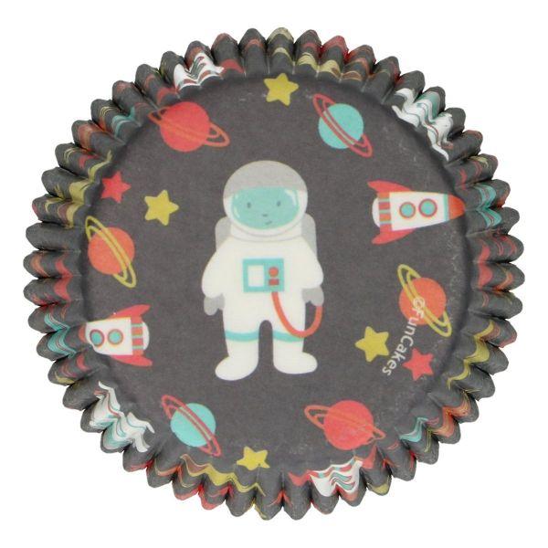FC Muffin Förmchen Space