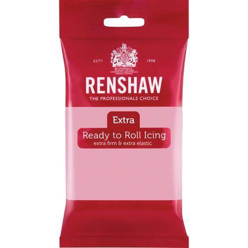 Renshaw Rollfondant Extra Pink 250 g