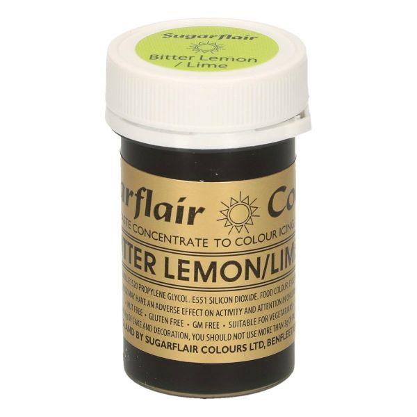 Sugarflair Pastenfarbe - Bitter Lemon/Lime