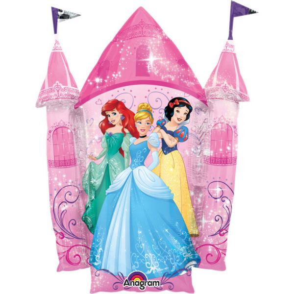Princess Castle Folienballon Supershape 66 X 88 cm