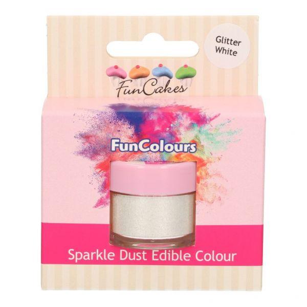 FC Sparkle Dust Glitter White