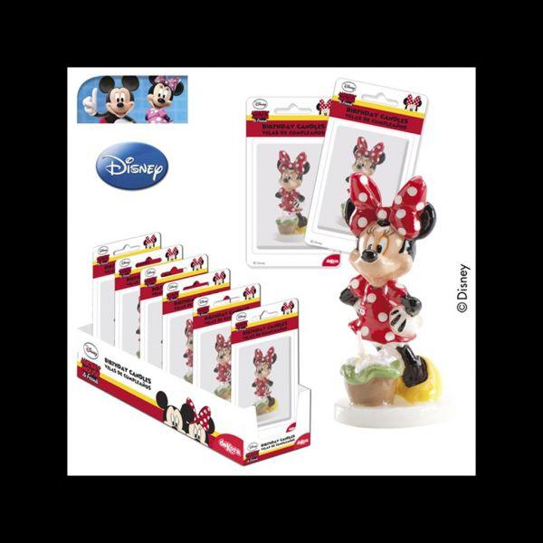 Minnie Mouse Kerze 3D