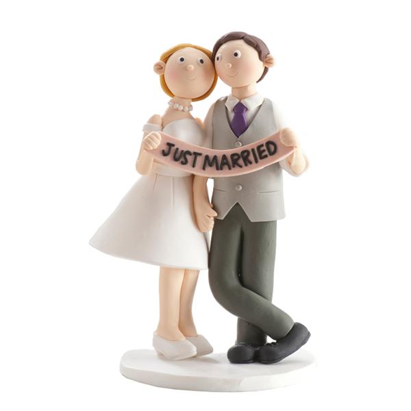 Brautpaar just married