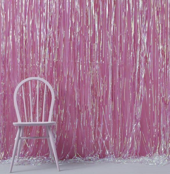Iridescent Foil Vorhang