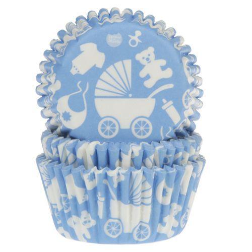 HOM Muffin Förmchen Baby Blau