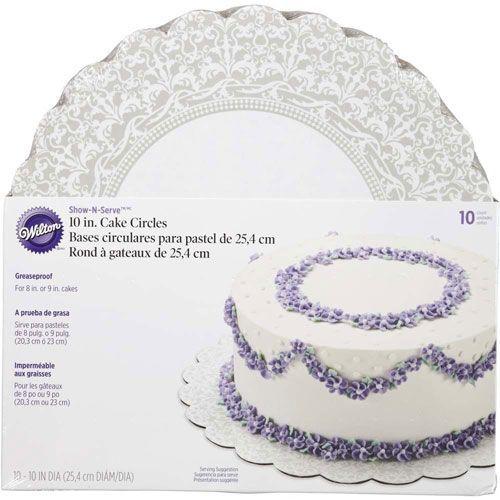 Cake Circles 25 cm - 10 Stk