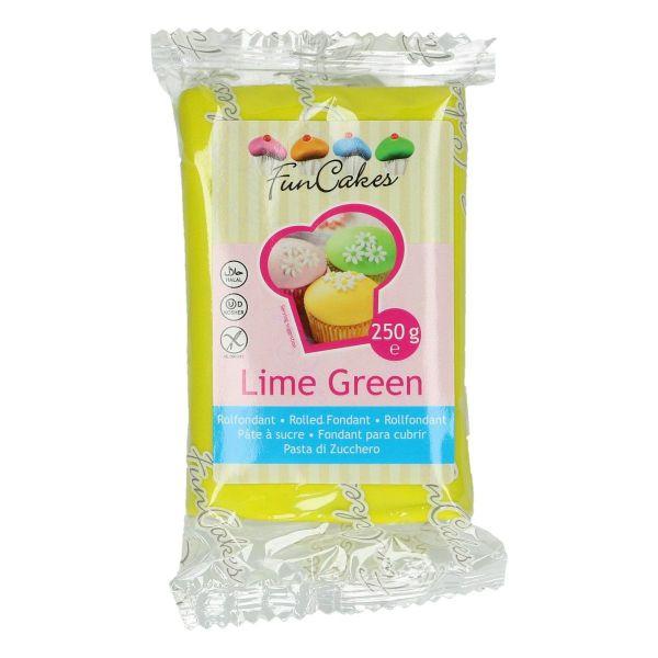 Rollfondant Lime Green 250 g