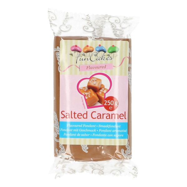 Geschmacksfondant Salted Caramel 250 g