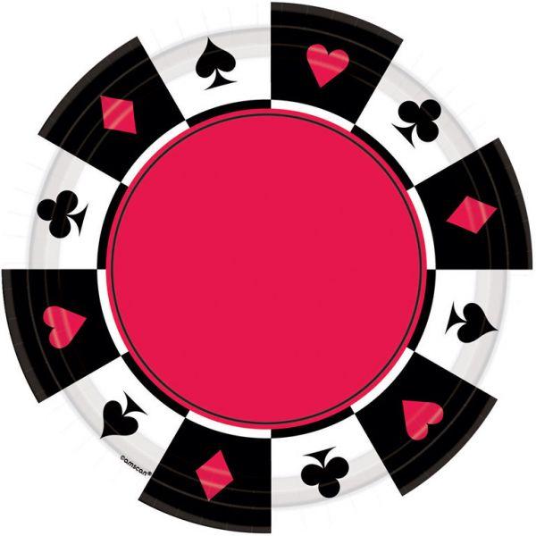 Place your Bets 8 Teller 26,7 cm