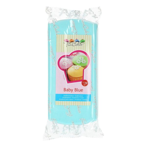 Rollfondant Baby Blue 1 Kg
