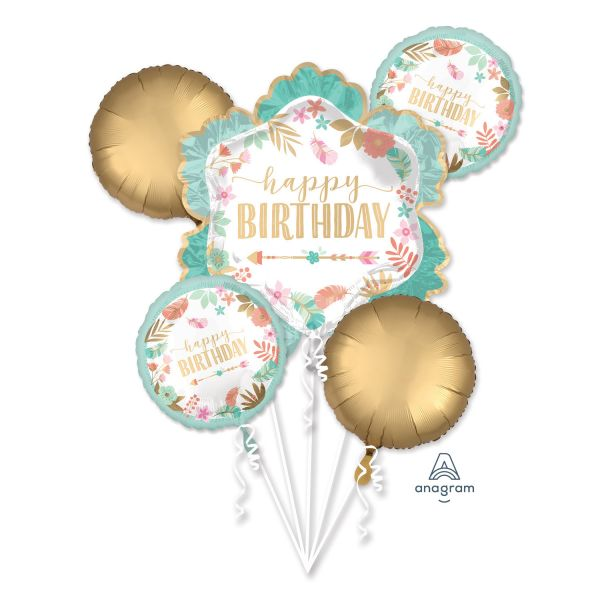 Bouquet Boho Birthdaygirl Folienballon/5