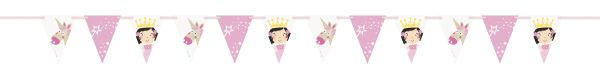 Princess Unicorn Flag Banner 274 cm