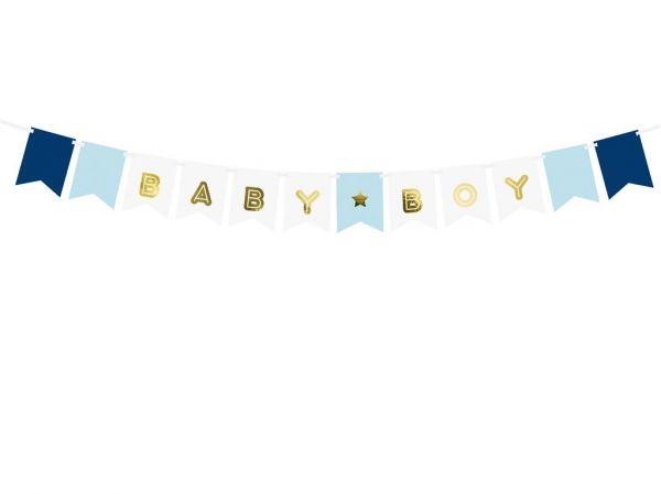 Banner Baby Boy 15 x 175 cm