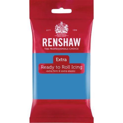 Renshaw Rollfondant Extra Turquoise 250 g
