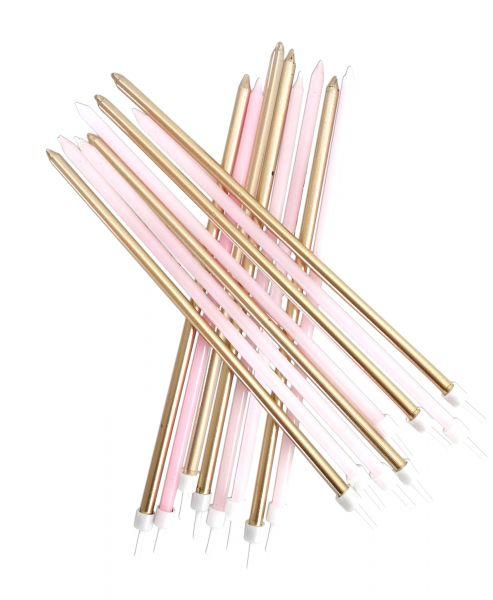 Kerzen Pastel Pink Mix
