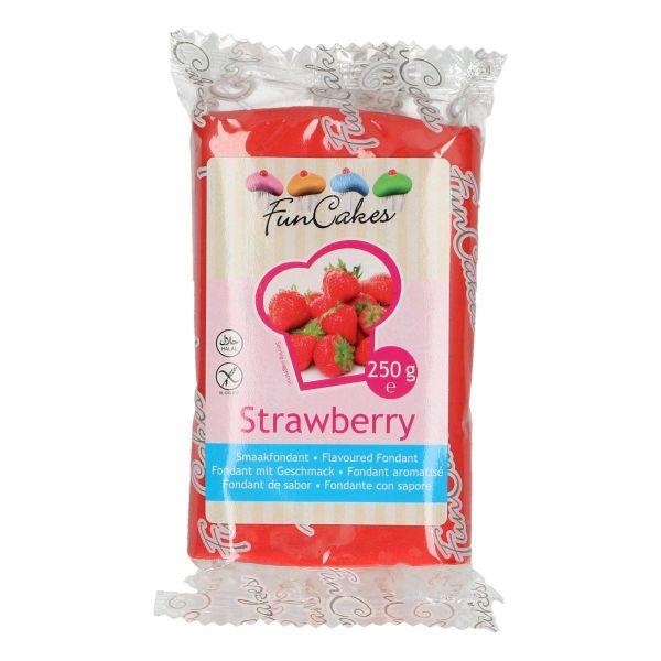 Geschmacksfondant Erdbeere 250 g