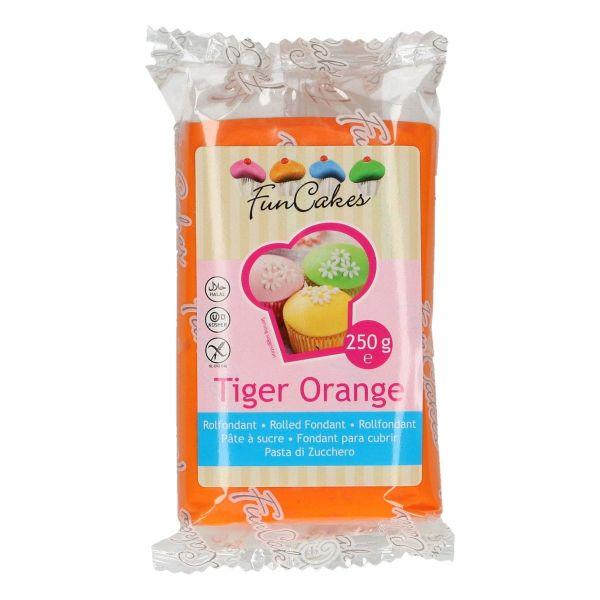 Rollfondant Tiger Orange 250 g