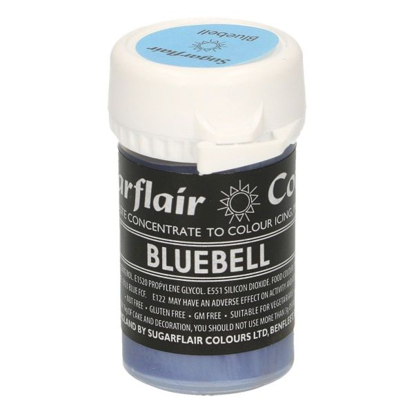 Sugarflair Pastenfarbe Pastel - Bluebell